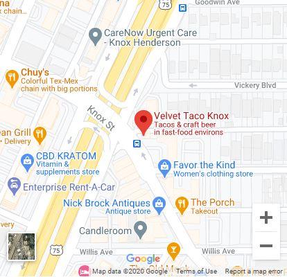 Dallas – Knox/Henderson Google Maps Mobile