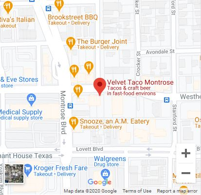 Houston – Montrose Google Maps Mobile