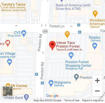 Dallas – Preston/Forest Google Maps Mobile
