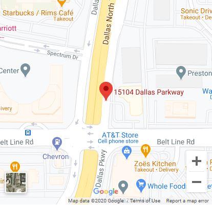 Dallas – Addison Google Maps Mobile