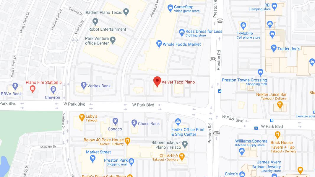 Plano Google Maps Desktop