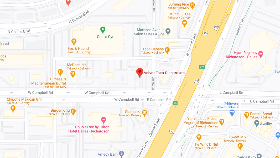 Richardson Google Maps Desktop