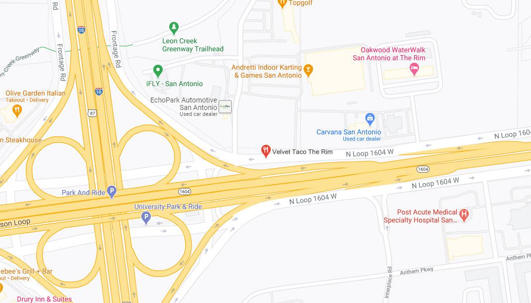 The Rim Google Maps Desktop