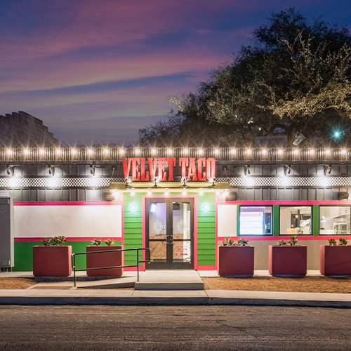 GREAT DAY SA – Velvet Taco opens one of two locations in San Antonio
