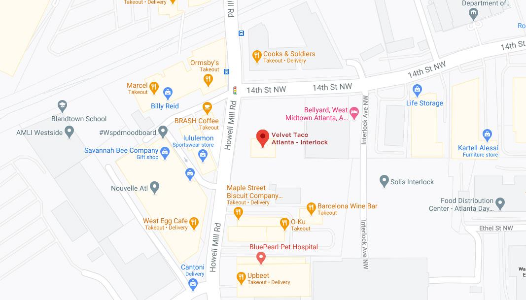 Atlanta – Interlock Google Maps Desktop