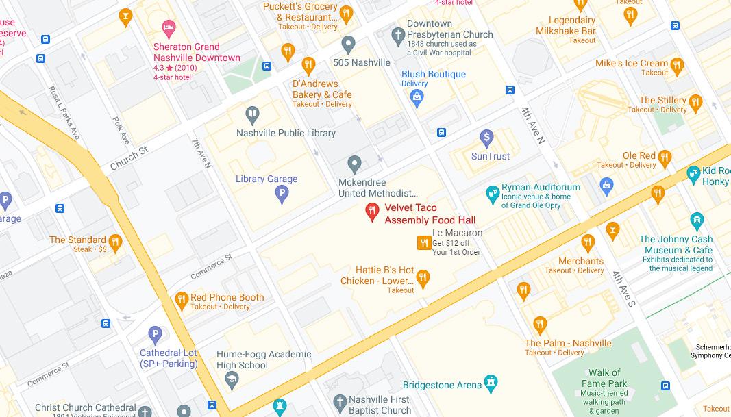 Assembly Hall Google Maps Desktop