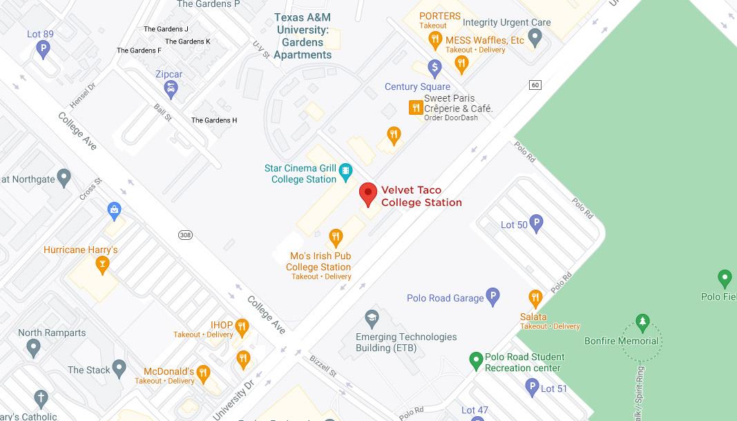 College Station Google Maps Desktop